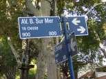 L'adresse de notre auberge de jeunesse. Eh oui c'est bien Boulogne sur mer et on en verra d'autres. En fait un Argentin célèbre a fini sa vie là-bas.