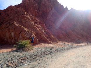 Rando autour de la montagne aux sept couleurs.