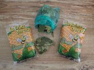 Bon ok notre secret pour l'altitude? Bonbons à la coca pour M.Laure et Simon et feuilles pour moi!!!