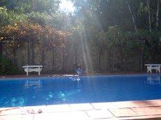 J'ai mon garçon de piscine.
