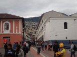 Un dimanche à Quito.
