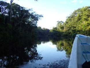 Départ pour aller voir le coucher de soleil sur la lagune.