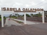 Nous voici donc arrivés à Isabela.