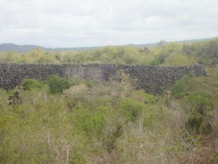 Muro de las Lagrimas, long de 100m fut construit par des prisonniers ds des conditions inhumaines