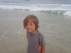 Notre petit surfeur.