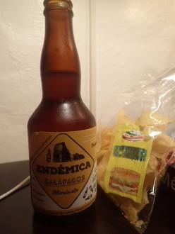Et la bière du coin.