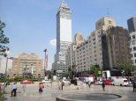 La Torre Latinoamerica construite en 1956, elle était alors le plus haut monument d'Amérique latine.