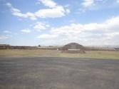 le temple de Quetzalcoatl.