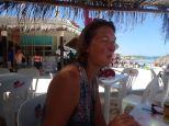 2ème pause à la plage Xpu-ha pour manger et se baigner.