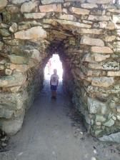 Et c'est parti pour les ruines de Tulum et son enceinte énorme.