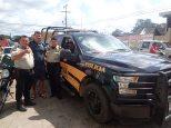 Ils sont gentils les policiers mexicains!!