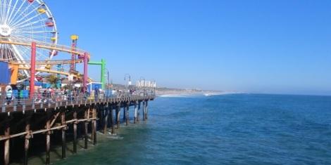 Et sa fameuse Santa Monica Pier de 1908.