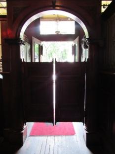 Et ses portes de saloon.