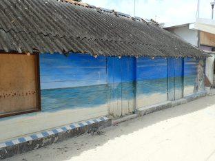 Anciennes maisons de pêcheur.