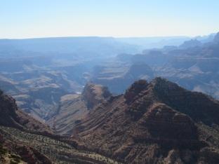 Balade au nord du canyon pour une autre vue.