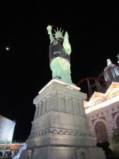 Sa statue de la liberté!