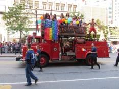 Nos beaux pompiers.
