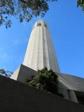 La Coit Tower pour un superbe panorama sur la ville.