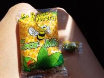 Bonbons coca-miel en Argentine pour l'altitude !!